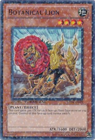 Botanical Lion - (Duel Terminal Normal Parallel Rare) (DT04) available at 401 Games Canada