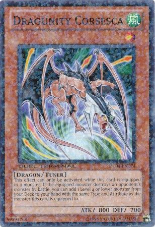 Dragunity Corsesca - (Duel Terminal Normal Parallel Rare) (DT04) available at 401 Games Canada