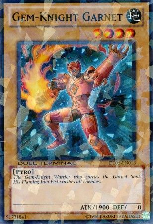 Gem-Knight Garnet - (Duel Terminal Normal Parallel Rare) (DT05) available at 401 Games Canada