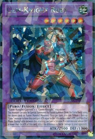 Gem-Knight Ruby - (Duel Terminal Ultra Parallel Rare) (DT05) available at 401 Games Canada