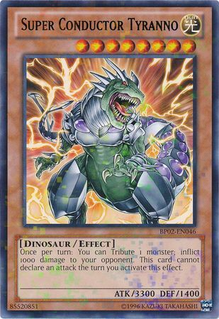 Super Conductor Tyranno - (Rare) (BP02) available at 401 Games Canada