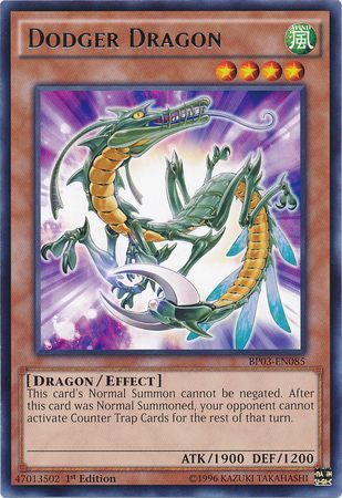 Dodger Dragon - (Shatterfoil Rare) (BP03) available at 401 Games Canada