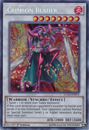 Crimson Blader - (Secret Rare) (LC5D) available at 401 Games Canada