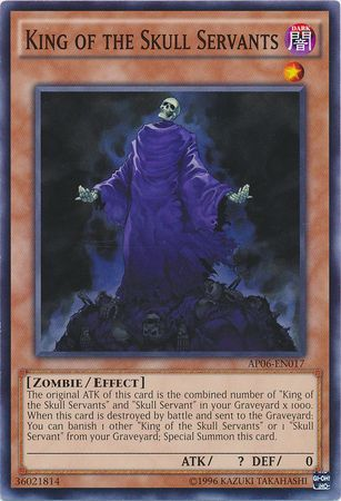 King of the Skull Servants - AP06-EN017 - Common available at 401 Games Canada