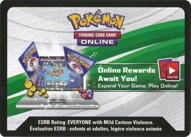 (Unused Digital Code) Pokemon - SM Forbidden Light Online Pack