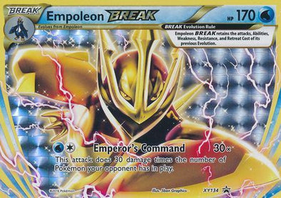 Buy Empoleon BREAK - XY134 and more Great Pokemon Products at 401 Games