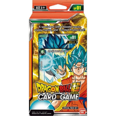 Dragon Ball Super Card Game - Galactic Battle - Special Pack Set - 401 Games