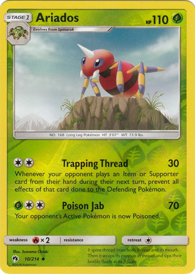 Buy Ariados - 10/214 - Reverse Foil and more Great Pokemon Products at 401 Games