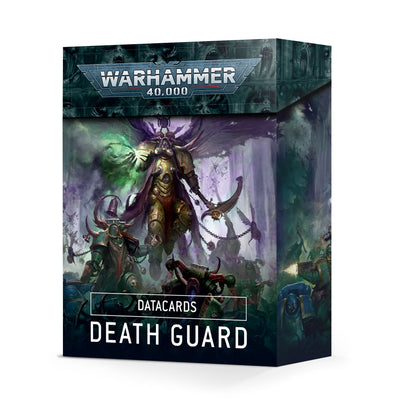 Warhammer 40,000 - Datacards: Death Guard - 9th Edition available at 401 Games Canada