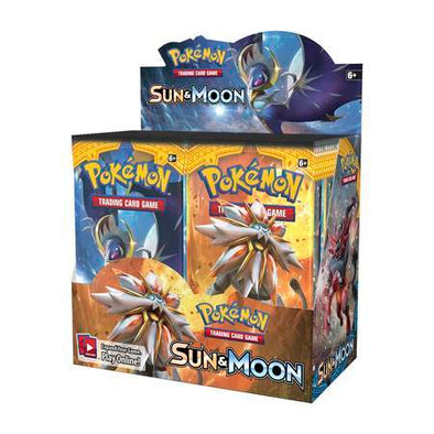 Pokemon - Sun and Moon Booster Box - 401 Games