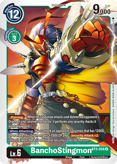 BanchoStingmon (BT3-058) available at 401 Games Canada