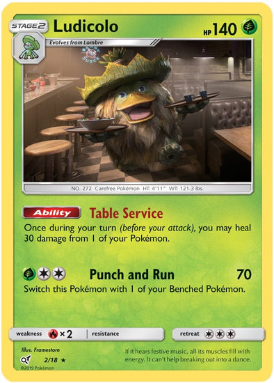 Buy Ludicolo - 2/18 and more Great Pokemon Products at 401 Games