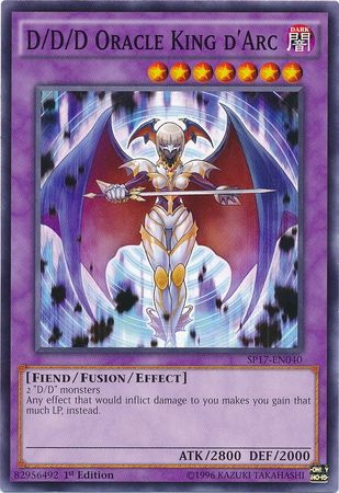D/D/D Oracle King d'Arc - (Starfoil Rare) available at 401 Games Canada