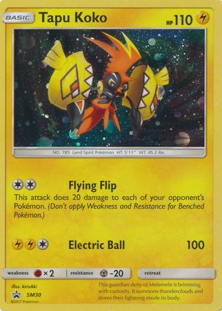 Buy Tapu Koko - SM30 and more Great Pokemon Products at 401 Games