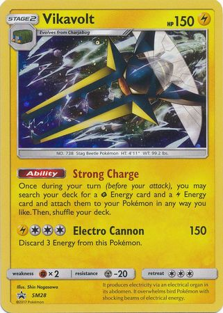 Buy Vikavolt - SM28 and more Great Pokemon Products at 401 Games
