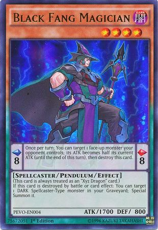 Black Fang Magician - (Ultra Rare) available at 401 Games Canada