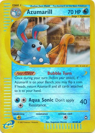 Buy Azumarill - 4/147 - Reverse Foil and more Great Pokemon Products at 401 Games