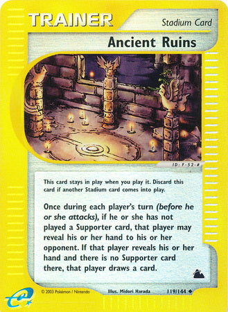 Ancient Ruins - 119/144 - Reverse Foil (SKY) available at 401 Games Canada