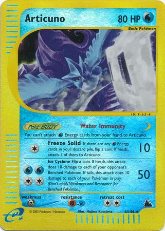 Articuno - 4/144 - Reverse Foil (SKY) available at 401 Games Canada