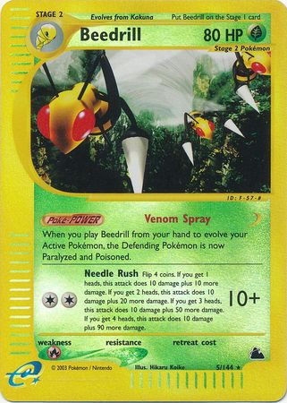 Beedrill - 5/144 - Reverse Foil (SKY) available at 401 Games Canada