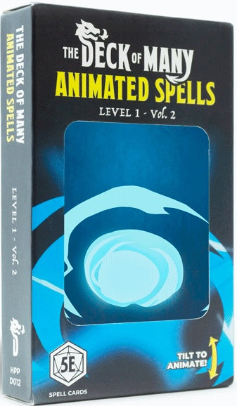 The Deck of Many - Animated Spells: Level 1 - Vol. 2 available at 401 Games Canada