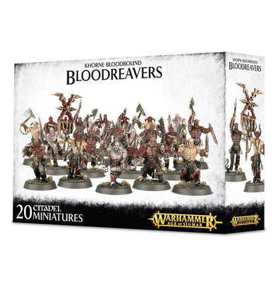 Buy Warhammer - Age of Sigmar - Blades of Khorne - Bloodreavers and more Great Games Workshop Products at 401 Games