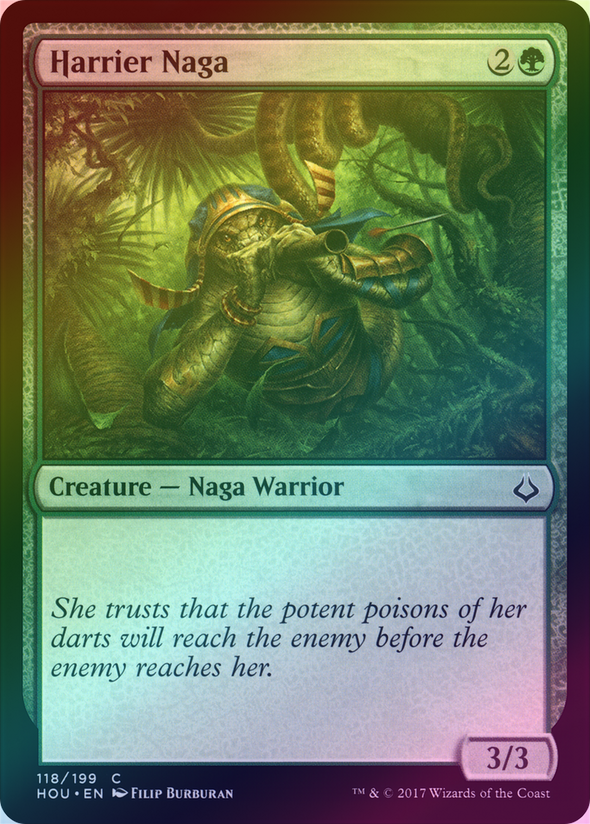 Harrier Naga (Foil) (HOU) - 401 Games