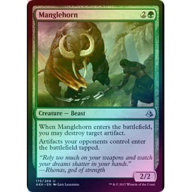 Manglehorn (Foil) (AKH) available at 401 Games Canada