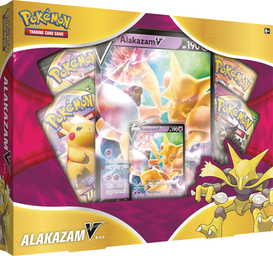 Pokemon - Alakazam V Box available at 401 Games Canada
