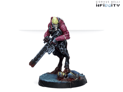 Infinity - Combined Army - Shasvastii Mentors (Shock Marksman Rifle) available at 401 Games Canada