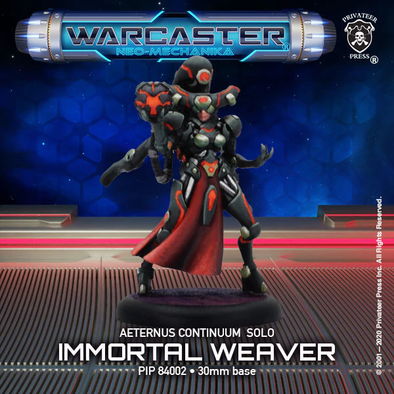 Warcaster - Neo-Mechanika - Aeternus Continuum - Immortal Weaver - 401 Games