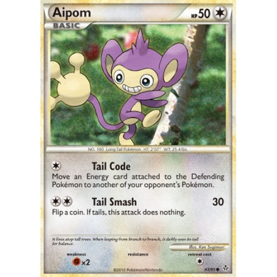 Buy Aipom - 43/95 and more Great Pokemon Products at 401 Games