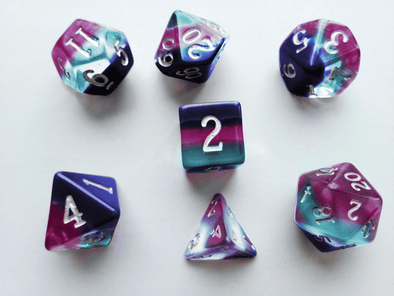 Little Dragon - Birthstone Dice - Alexandrite (June)