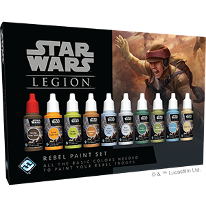 Star Wars - Legion - Rebel Paint Set - 401 Games