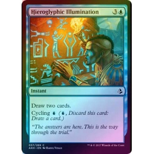Hieroglyphic Illumination (Foil) (AKH) available at 401 Games Canada