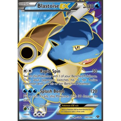 Buy Blastoise-EX - 142/146 - Full Art and more Great Pokemon Products at 401 Games