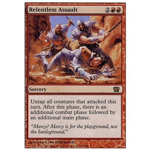 Relentless Assault available at 401 Games Canada