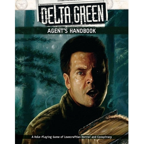 Buy Delta Green - Agent's Handbook and more Great RPG Products at 401 Games