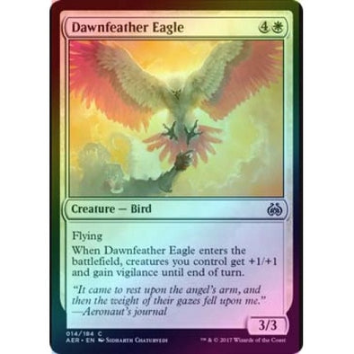 Dawnfeather Eagle (Foil) (AER) available at 401 Games Canada
