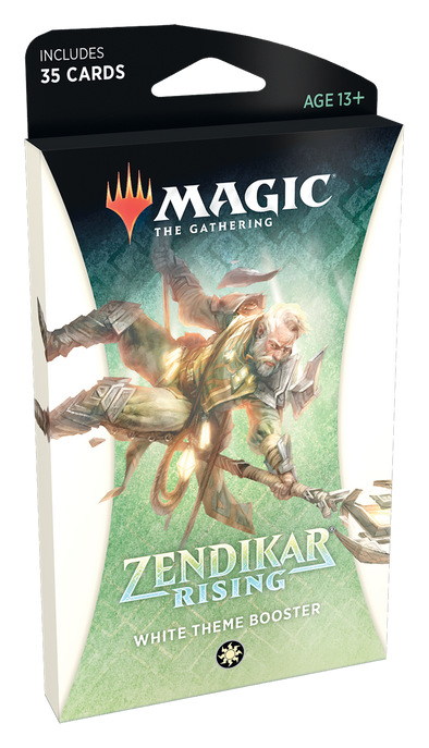 MTG - Zendikar Rising - Theme Booster Pack - White available at 401 Games Canada