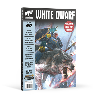 White Dwarf - Issue 452 - March 2020 available at 401 Games Canada