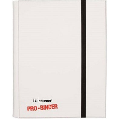 Buy Ultra Pro - Pro Binder 4 Pocket - White and more Great Sleeves & Supplies Products at 401 Games