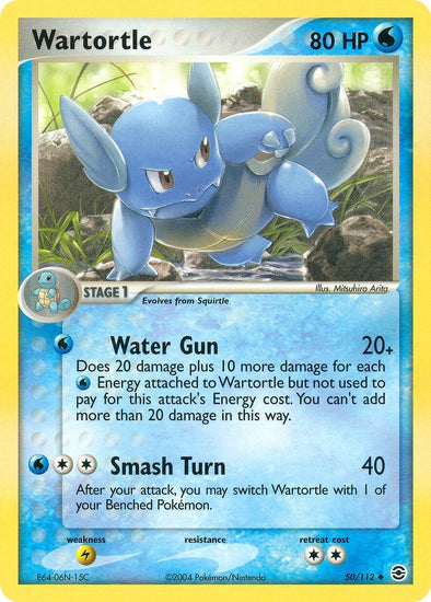 Wartortle - 50/112 (FRLG050) available at 401 Games Canada