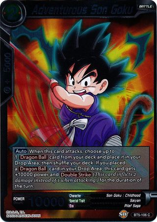 Adventurous Son Goku (FOIL) available at 401 Games Canada