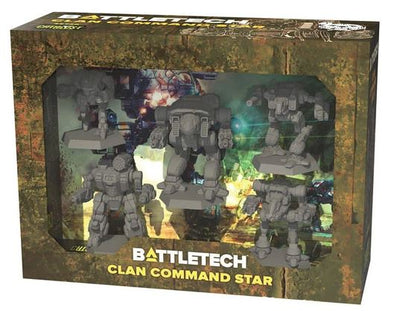 Battletech - Clan - Command Star available at 401 Games Canada