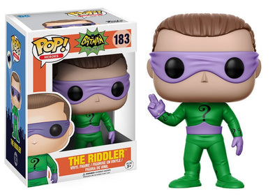 Buy Pop! DC Comics - Batman Classic TV Series - The Riddler and more Great Funko & POP! Products at 401 Games