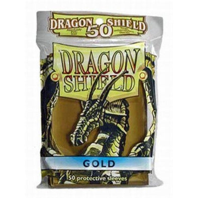 Buy SUPL Dragon Shield (SMALL)50 ct- Gold and more Great Sleeves & Supplies Products at 401 Games