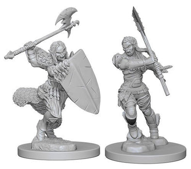 Buy Pathfinder Deep Cuts Unpainted Minis: Half Orc Female Barbarian and more Great RPG Products at 401 Games