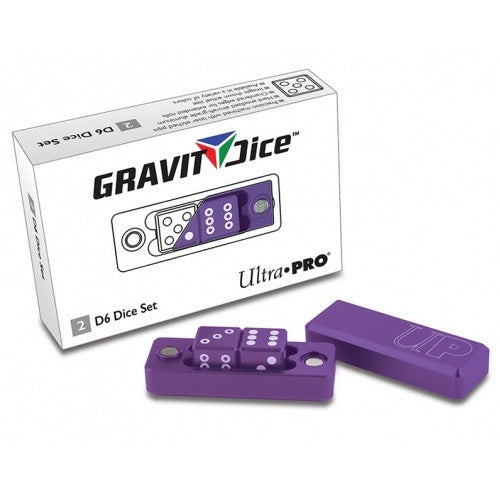 Buy Ultra Pro - Dice Set - 2D6 - Gravity Dice - Royal Purple and more Great Dice Products at 401 Games