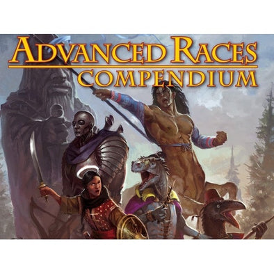 Pathfinder - Book - Advanced Races Compendium - 401 Games